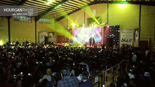 اجرای کنسرت بزرگ حمید عسکری در نیریز+ تصاویر