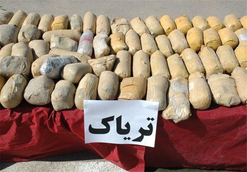 کشف یک محموله بزرگ مواد مخدر در نی ریز فارس